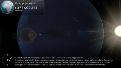 Earth Screensaver HD – трехмерная заставка