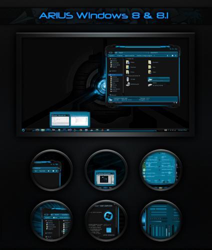Arius - Тема для Windows 8