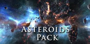 Asteroids Pack – красивые живые обои для вашего андроида