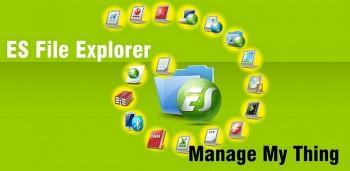 ES Проводник - продвинутый файловый менеджер на андроид
