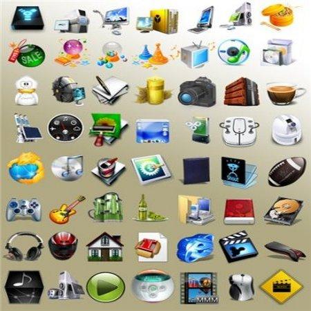 Скачать бесплатно EMTECH Icons Pack