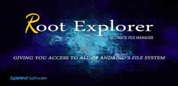 Root Explorer  качественный диспетчер файлов на андроид