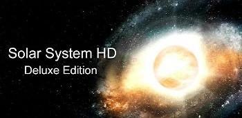 Solar System HD Deluxe Edition – весьма впечатляющие живые обои для андроид от Mozg Labs