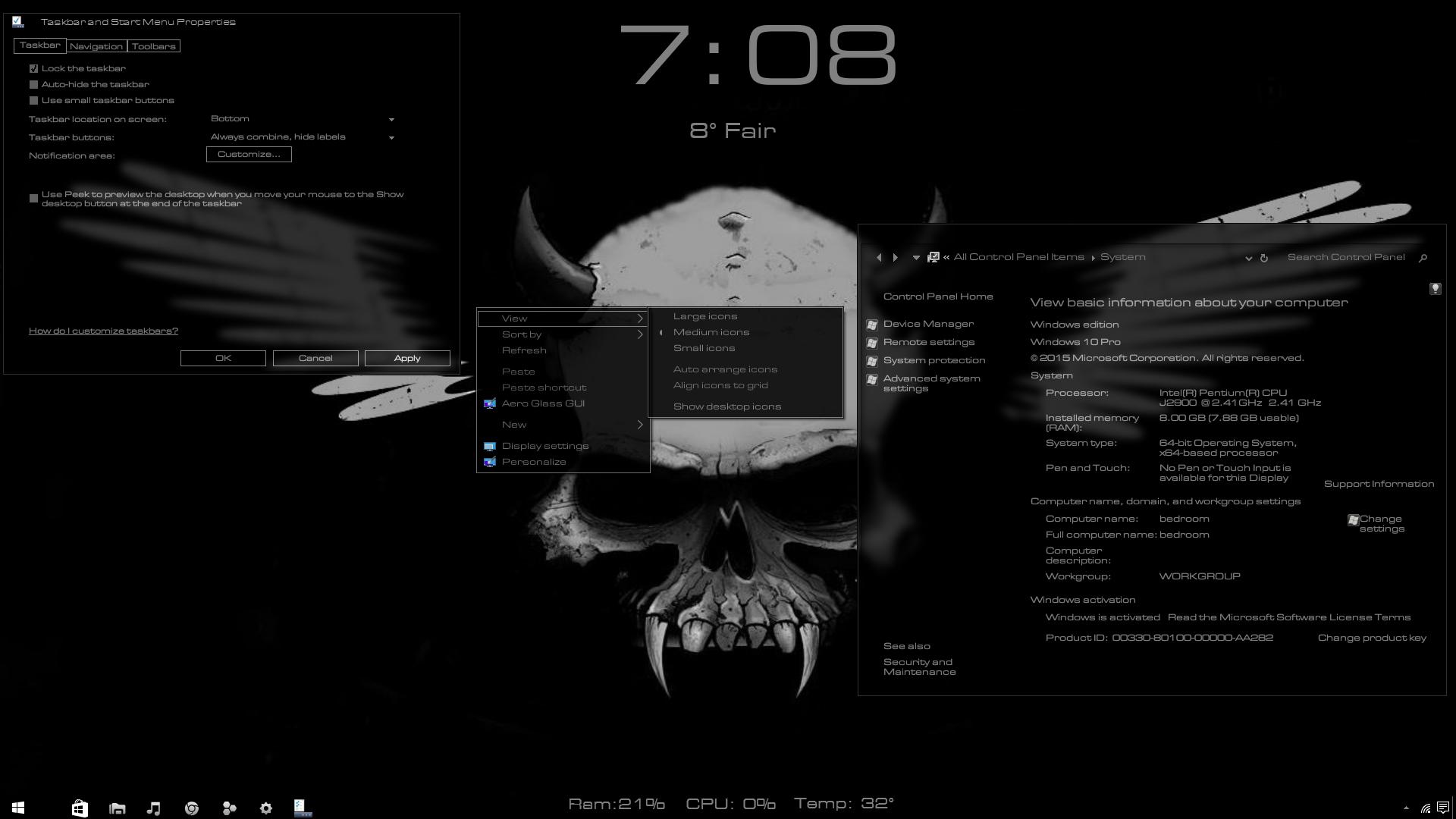 Moo0 TransparentMenu v1.20 - программа для создания прозрачного контектного меню.